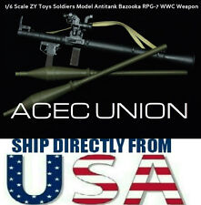 1/6 Scale ZY Toys Soldiers Model Antitank Bazooka RPG-7 WWC Weapon U.S.A. SELLER