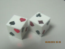 Poker look alike quality dice, moneysuite