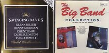 Lot 3 Big Band Music Cd Swinging Bands Count Basie Tommy Dorsey Duke Ellington