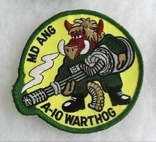175 TACT FIGHTER GROUP OF MD AIR GUARD ON A-10 WARTHOG UNIT MERROWED EDGE