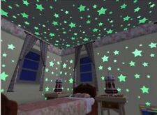 New100Pcs Wall Stickers Home Decor Glow In The Dark Star sticker Decal room