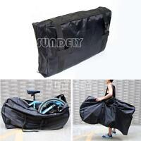 "26"" Padded Bike Cycling Lounge Travel Luggage Bag Carrier Storage Protection -uk"