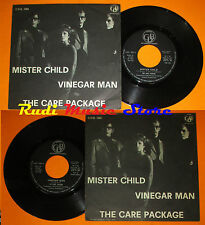 LP 45 7'' THE CARE PACKAGE Mister child Vinegar man italy CDB 1094 cd mc dvd