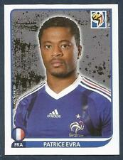 PANINI-SOUTH AFRICA 2010 WORLD CUP- #094-FRANCE & MANCHESTER UNITED-PATRICE EVRA