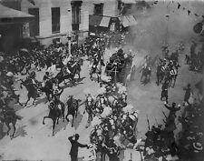 """Madrid Spain Anarchist Attack on King Alfonso XIII 1906 7x5"""" reprint"""