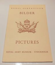 BILDER PICTURES Royal Army Museum Stockholm Sweden Kungl Armemuseum 1953 arms