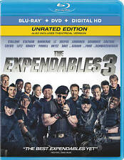The Expendables 3 (Blu-ray/DVD, 2014, 2-Disc Set, Ultraviolet Includes Digital C