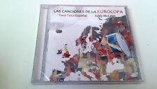 """EDDY MCLEAN """"LAS CANCIONES DE LA EUROCOPA"""" CD 4 TRACKS PRECINTADO TOCA ESPAÑA"""