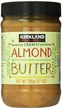 Kirkland Signature Creamy Almond Butter, 27 Ounce FREE EXPEDITED SHIPPING