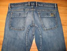 Diesel Gussetted Crotch Buttonhole Blue Denim Jeans Button Fly Pants 38x29 RARE