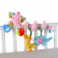 Newborn Baby Bed Stroller Toys Elephant Lion Baby Educational Rattles Toy