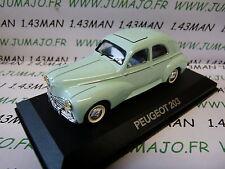 voiture 1/43 atlas NOREV voiture de mon père : PEUGEOT 203 verte
