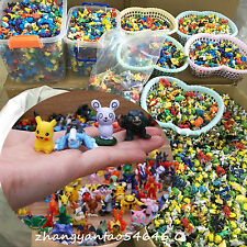 96PCS Random Pokemon Go Action Figure Pikachu Puppet Figurine Toy Kids 2-5CM