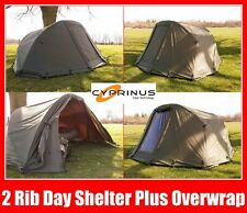 Cyprinus 1 man Fishing waterproof rapid Bivvy Day shelter + Overwrap 2nd Skin