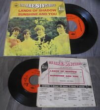 LES IRRESISTIBLES - Lands Of Shadow French PS Psych Pop 1968