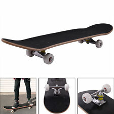 """Blank Complete Skateboard Stained BLACK 7.75"""" Skateboards, Ready to ride New"""