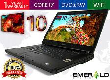 """Dell Precision M4500 Win 10 Laptop Quad i7 820QM 1.73GHZ 4GB 320GB 15.6"""" FHD"""