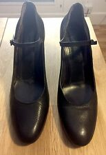 Roberto del Carlo Covered Heel Pumps / Shoe Black Size 40.5
