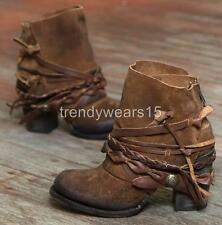 FAST SHIP! NWB! $295 FREEBIRD BY STEVEN CAIRO TAN SUEDE ANKLE BOOTS US 9