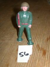ca 1960'S BARCLAY DIMESTORE LEAD TOY SOLDIER MARCHING WITH RIFLE #56