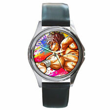 Baki The Grappler fighting champion kung fu leather watch