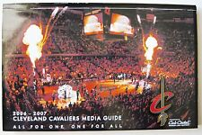 Cleveland Cavaliers 2006-07 Media Guide  NBA  Quicken Loans Arena  LeBron James