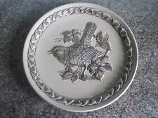 Poole Pottery - Plate - British Garden Birds - Blackbird - No. 2671/5000
