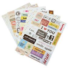 6 Stempel Sammelalbum Tagebuch Planer Dekorative Sticker Gut Kinder Xmas Produkt