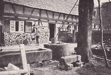 Bauernhof in Allmannsweier in der Ortenau - um 1930 oder früher ?