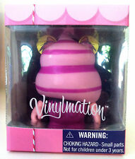 "DISNEY VINYLMATION 3"" BAKERY SERIES 1 CHESHIRE CAT CUPCAKE ALICE IN WONDERLAND"