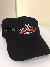 Grand Theft Auto 5 V Black Merryweather Security Hat Cap ADJ - Rockstar Games