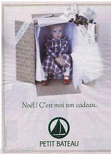 PUBLICITE ADVERTISING 105  1993  PRENATAL   vetements enfants  CADEAU NOEL