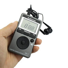New Pocket Mini FM/AM Radio 2-Band Radio Mini Receiver with Free Earphone Hot