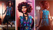 Barbie Collector #CHX11 Harlem Theatre CLAUDETTE GORDON Gold Label! NRFB !