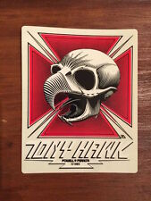 TONY HAWK POWELL PERALTA SKATEBOARD STICKER, RARE VINTAGE