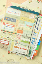 Daily Deco Retro Vintage Stickers cute deco scrapbooking kawaii planner sticker