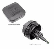 BMW E36 Z3 E39 E46 E53 Cover Cap for Oil Filter Housing + Engine Oil Filler Cap