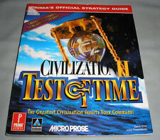 Civilization II 2: Test of Time - PC Computer Video Game Official Strategy Guide