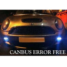 MINI COOPER S XENON WHITE LED SIDELIGHT BULBS ERROR FREE SMD chips canbus