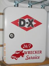 DX DIAMOND 1950S GAS OIL SERVICE STATION KEY BOX NEW