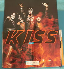 Kiss Masked Foldout Poster Raygun Magazine No. 60 October 1998 Gene Simmons