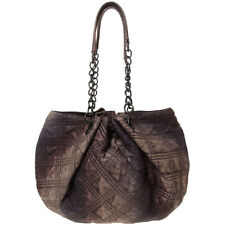 New All Saints Chained Rainbow Quilted Leather Bag - Perfect Gift