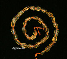 """Citrine Semi Faceted Nugget Beads ap.7-9mm 16"""" #62038"""