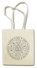 WHEEL OF THE YEAR CTHULHU Hipster Shopping Cotton Bag Lovecraft Arkham Horror