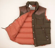 NEW PENFIELD Mens Stapleton GOOSE DOWN vest jacket S Quilted 60/40 Puffa £160