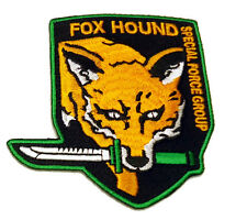 Metal Gear FOX HOUND Special Forces EMROIDERED PATCH
