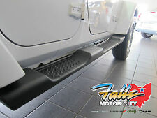 2007-2016 Jeep Wrangler Unlimited 4 Door JK Side Steps Running Boards Mopar OEM