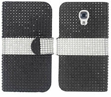 LG Volt LS740 F90 Premium Bling Diamond Wallet Case Flip Pouch Phone Cover