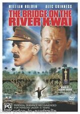 The Bridge On The River Kwai DVD TOP 250 MOVIES WAR William Holden BRAND NEW R4