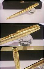 Penna a sfera Parker oro laminato lavorazione Ghiglioscè